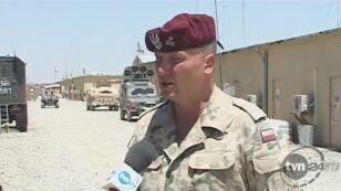 Żołnierze wspominają zmarłego kolegę