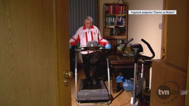 Dokąd biegnie Andrzej Lepper? (TVN24)