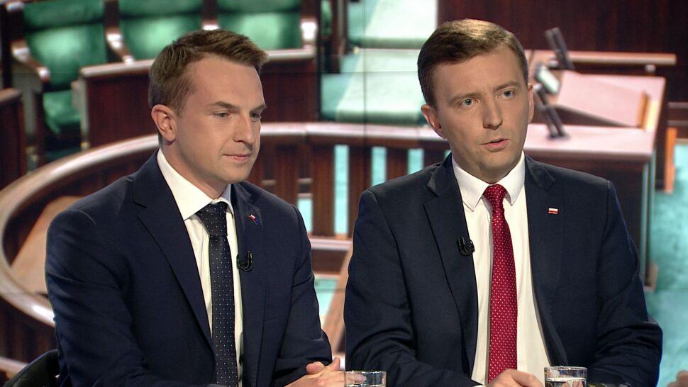 """""""Okazuje się, że przy ośmiorniczkach siedzi premier Morawiecki"""""""