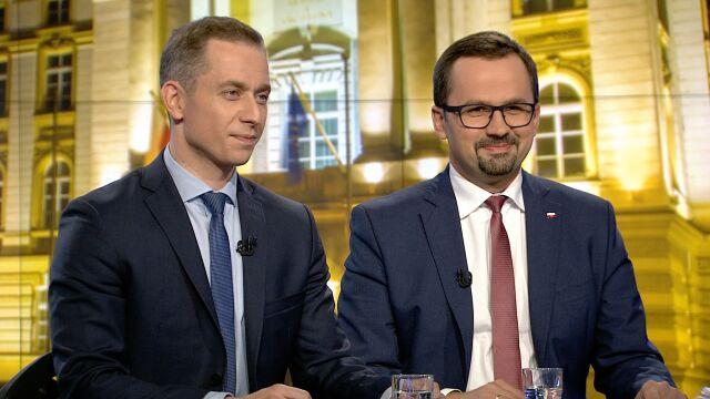 """Cezary Tomczyk i Marcin Horała w """"Faktach po Faktach"""""""