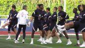 Trening Francji przed starciem z Belgią w półfinale Ligi Narodów