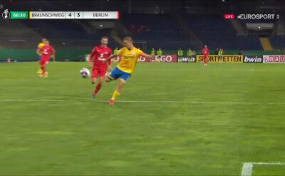 Kobylański show! Polak strzelił trzy gole w 1. rundzie Pucharu Niemiec