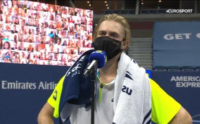 Shapovalov po awansie do ćwierćfinału US Open