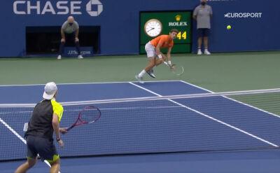 Kapitalne zagranie Carreno-Busty w ćwierćfinale US Open