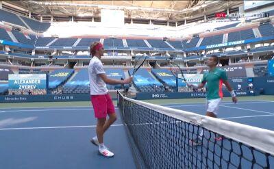 Alexander Zverev awansował do półfinału US Open