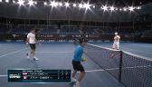 Skrót meczu Cilić - Chardy w 1. rundzie Murray River Open