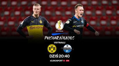 Hity 1/8 finału Pucharu Niemiec we wtorek i środę na żywo w Eurosporcie
