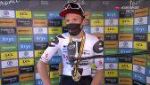 Andersen po wygraniu 19. etapu Tour de France