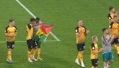 Skrót meczu Dynamo Drezno - Hamburger SV w 1. rundzie Pucharu Niemiec