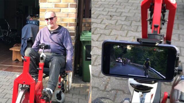 """""""Jestem teraz na zmianie. Gonią mnie!"""". Ryszard Szurkowski walczy o powrót do zdrowia i jedzie z Tour de France"""