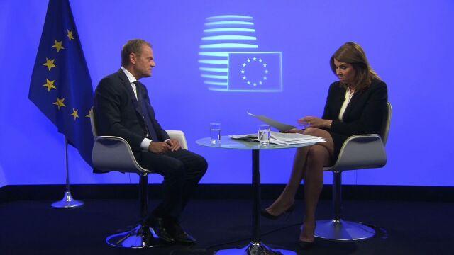 Tusk: wydaje mi się, że prezydent Rzeczypospolitej powinien się tym przejąć