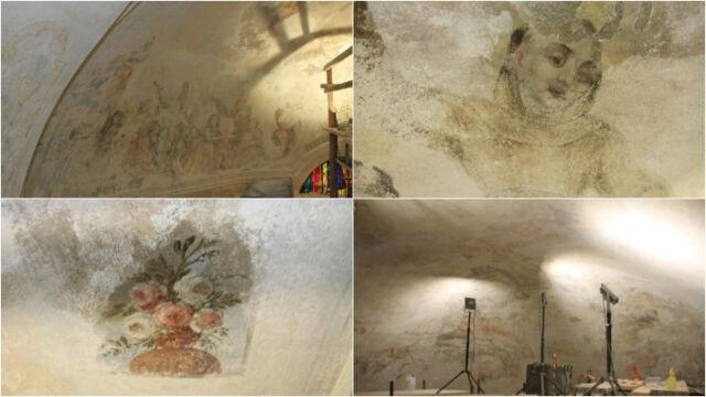 Odkryli freski sprzed kilkuset lat, chcą  je ratować.