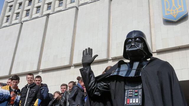Ukraiński Darth Vader bez mandatu