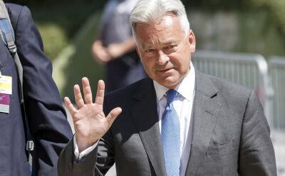 Alan Duncan odchodzi ze stanowiska wiceszefa MSZ