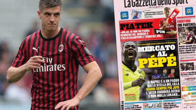 """Piątek dla """"La Gazzetta dello Sport"""": celami Liga Mistrzów i korona króla strzelców"""