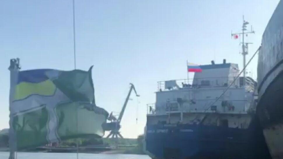 """Ukraińskie służby zatrzymały rosyjski tankowiec. """"Konsekwencje nie każą na siebie czekać"""""""