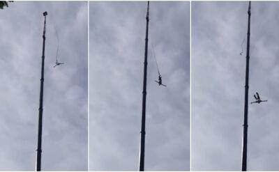 """Wypadek podczas skoku na bungee. """"Uprzęże na nogach były zamocowane prawidłowo"""""""