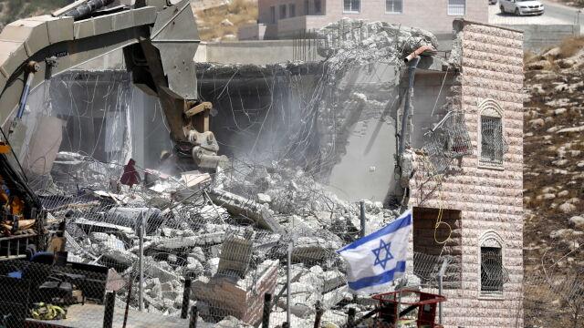 Izrael wyburza budynki na Zachodnim Brzegu. UE: to osłabia szansę na trwały pokój