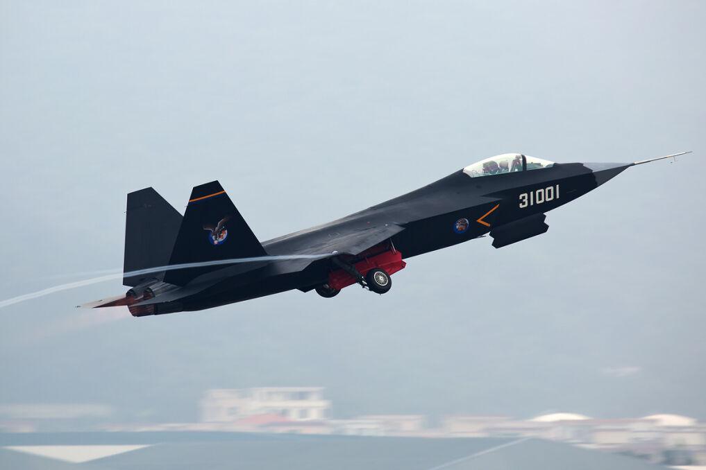 Prototypowy chiński myśliwiec piątej generacji Shenyang J-31