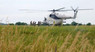 Ukraiński helikopter zestrzelony pod Słowiańskiem. Jest rozejm czy go nie ma?