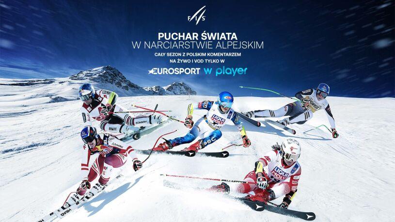 Rusza PŚ w narciarstwie alpejskim na antenach Eurosportu i w Playerze