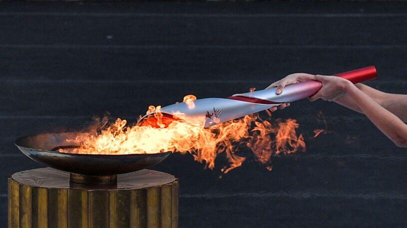 Ogień olimpijski ruszył w drogę do Pekinu