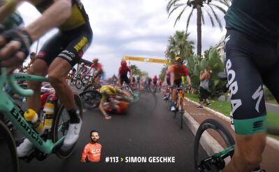 1. etap Tour de France okiem kolarzy