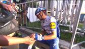 Łzy Alaphilippe'a po 2. etapie Tour de France