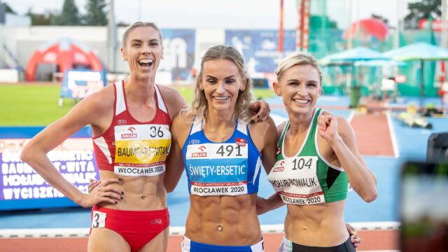Przyjaciółki podzieliły się medalami. Wysoki poziom na mistrzostwach Polski