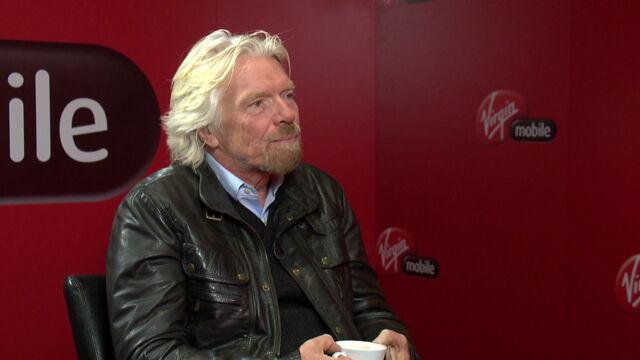 """Richard Branson gościem """"Faktów po Faktach"""""""