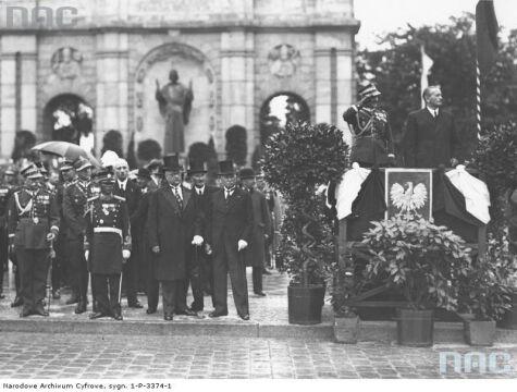 1936r. - uroczystości z okazji rocznicy Bitwy Warszawskiej