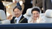 Przejazd cesarskiej pary po ulicach Tokio