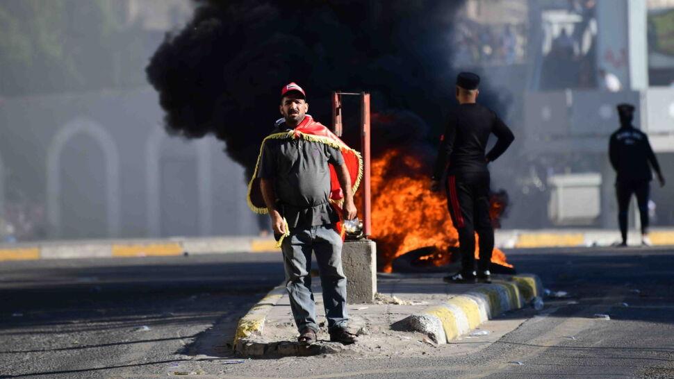 """Chaos na irackich ulicach. Premier apeluje o """"powrót do normalnego życia"""""""