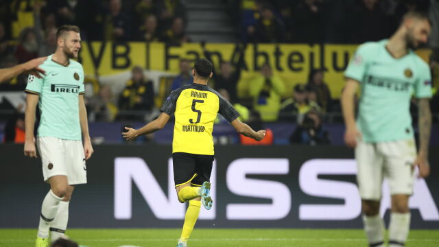 Inter oszołomiony. Niesamowita pogoń Borussii Dortmund