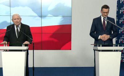 Kaczyński: rząd ma w wielkiej mierze charakter kontynuacyjny