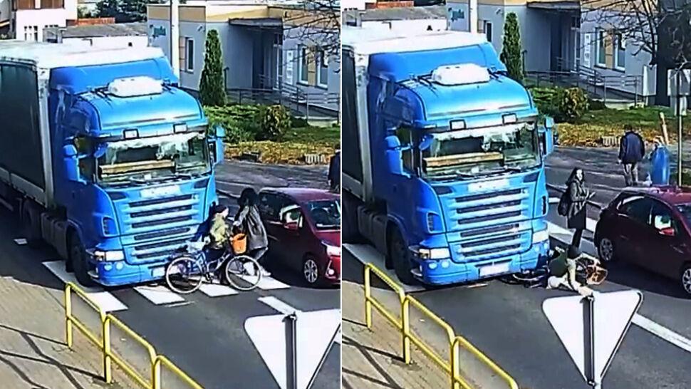 """Piesze pod kołami ciężarówki, kierowca ukarany. """"Czy musi dojść do kolejnej tragedii?"""""""