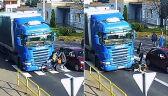 Groźne zdarzenie na przejściu dla pieszych w Strzelnie