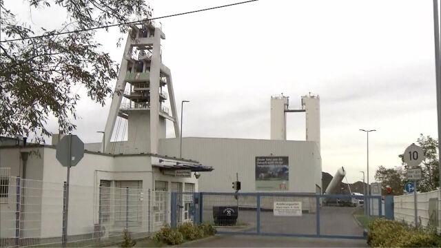 Niemieccy górnicy uwięzieni pod ziemią uratowani