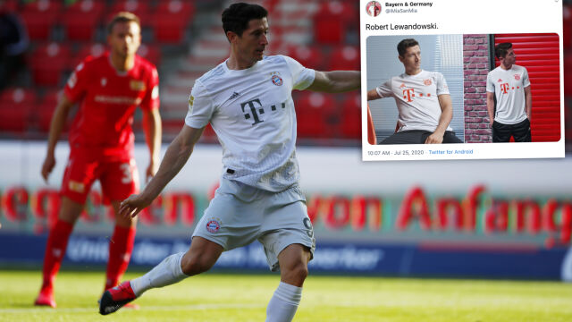 Lewandowski z kolegami zaprezentowali nowe koszulki Bayernu. Inspiracja rewelacyjnym sezonem