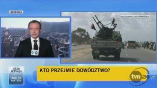 Spór w NATO w sprawie Libii (TVN24)