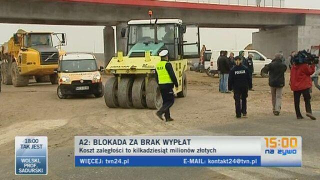Konstanty Sochacki, prezes firmy Tekka o proteście (TVN24)
