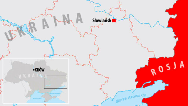Reporter TVN24: władze nie potwierdzają operacji w Słowiańsku