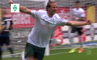 Skrót meczu Paderborn - Werder w 31. kolejce Bundesligi