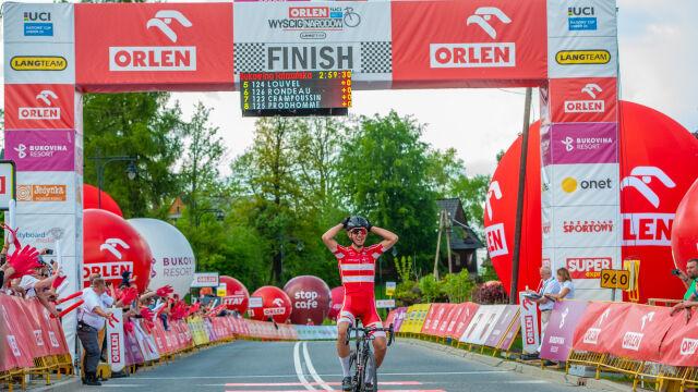 Duńczyk najlepszy w drugim etapie Orlen Wyścigu Narodów