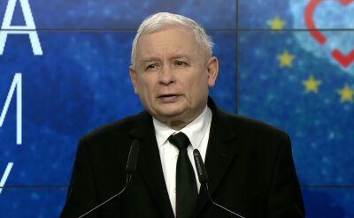 Kaczyński: ten sukces nie jest dla nas sygnałem do zaniechania wysiłku