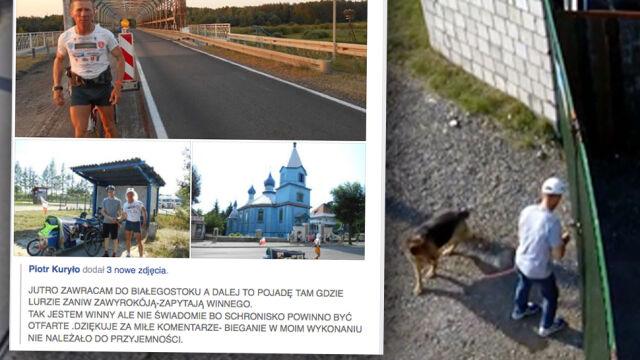 Porzucił psa w upale przed schroniskiem. Jest zawiadomienie do prokuratury