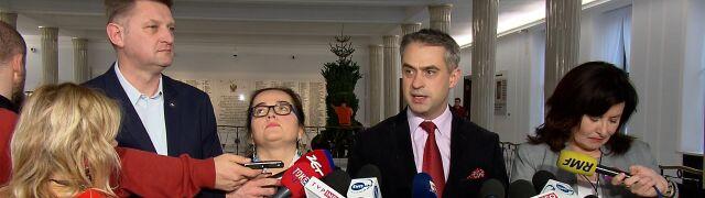 """Lewica zapowiada wniosek w sprawie Banasia.  """"To jest prawdziwe 'sprawdzam' dla Kaczyńskiego"""""""