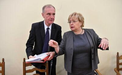 Gersdorf: Ministerstwo Sprawiedliwości mówi, że nie ma potrzeby zmian, bo wszystko jest dobrze. Tak samo mówiliście, wysyłając mnie na emeryturę