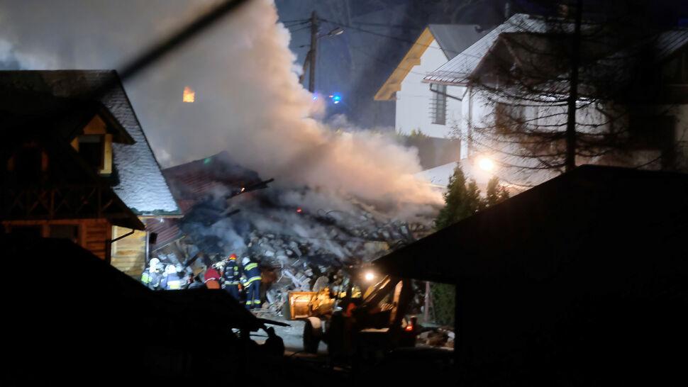 Katastrofa w Szczyrku. Śledczy ustalili miejsce przerwania gazociągu
