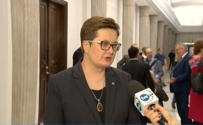 """Lubnauer o stanowisku Rady Ministrów """"w sprawie sytuacji w wymiarze sprawiedliwości"""""""